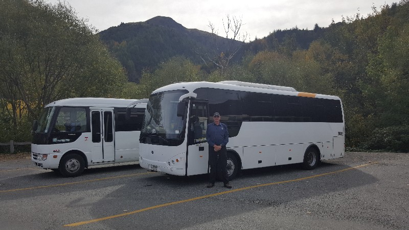 bci and rosa 4wd bus ski field transport